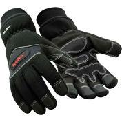 Insulated High Dexterity Glove, Black - Medium