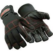 ArcticGrip™ Glove, Black & Red - Large