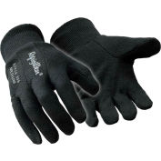 Insulated Jersey Glove, Black - Xl - Pkg Qty 12