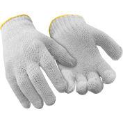 String Knit Liner, White - Large - Pkg Qty 12