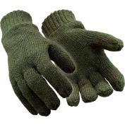 RefrigiWear® 0321RGRNXLG, Insulated Wool Gloves, XL - Pkg Qty 12