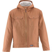 RefrigiWear® Arctic Duck™ Jacket, Brown, 10° Comfort Rating, 2XL, 0332RBRN2XL