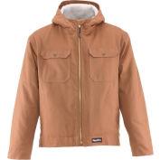 RefrigiWear® Arctic Duck™ Jacket, Brown, 10° Comfort Rating, 2XL, 0332RBRN2XL