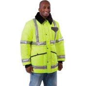 HV HiVis™ Jackoat™ Tall, HiVis Lime-Yellow - 2XL