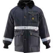 Iron Tuff™ Enhanced Visibility Siberian™ JackoatRegular, Navy - Large