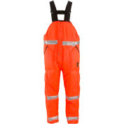 L2 HiVis™ Iron-Tuff™ High Bib Overall Short, HiVisOrange - 2XL