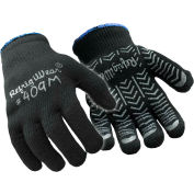 Herringbone Grip Glove, Black - Medium - Pkg Qty 12