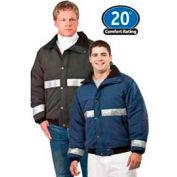 ChillBreaker™ Enhanced Visibility Jacket Regular, Navy - L