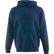 Hoodie Sweatshirt Regular, Navy - 3XL