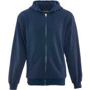 Thermal Sweatshirt Regular, Navy - Large