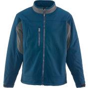 RefrigiWear® 0490RNAVLAR, Insulated Softshell Jacket, Navy, Large