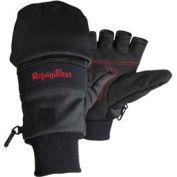Stretch Convertible Mitt, Black - XL