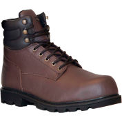 RefrigiWear Classic Leather Boots, Brown, -15°F Comfort Rating, Size 11