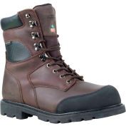 RefrigiWear Platinum Boot Regular, Brown - 9.5