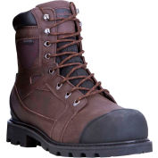RefrigiWear Barricade™ Leather Boots, Brown, -20°F Comfort Rating, Size 8.5