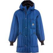 RefrigiWear® Vertical Puffer Parka, Blue, -10° Comfort Rating, 2XL, 6360RBLU2XL