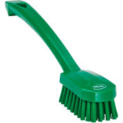Vikan 30882 Small Utility Brush- Medium, Green