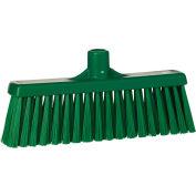 """Vikan 31662 12"""" Upright Broom- Medium, Green"""