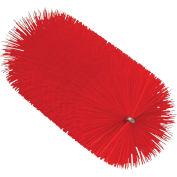 """Vikan 53564 2.4"""" Tube Brush for Flex Rod- Medium, Red"""