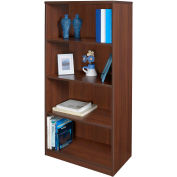 "Regency Seating Sandia Series 60"" x 30"" Bookcase - Java"