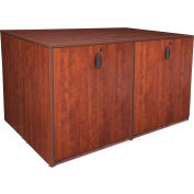 Regency Stand Up 2 Storage Cabinet - Lateral File - Desk Quad - Cherry - Legacy Series