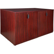 Regency Stand Up 2 Storage Cabinet - Lateral File - Desk Quad - Mahogany - Legacy Series