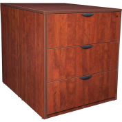 Regency Stand Up Back-to-Back Lateral File and Desk - Cherry - Legacy Series