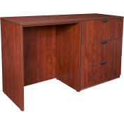 Regency Stand Up Side-to-Side Lateral File and Desk - Cherry - Legacy Series