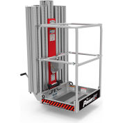 "Powerlift PL65 Maintenance PlatForm 60""L x 40""W x 72""H 350 lbs Capacity"