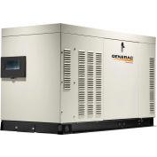 Generac RG02724JNAX,25/27kW,120/240 3-Phase,Liquid Cooled Protector QS Generator,NG/LP,Alum. Encl.