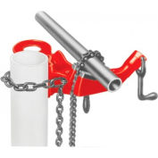 "RIDGID® 40170 Model No. 640 Top Screw Post Chain Vise, 1/8""-5"" Pipe Capacity"