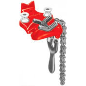 "RIDGID® 40175 Model No. BC2A Bottom Screw Bench Chain Vise, 1/8""-2"" Pipe Capacity"