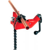 """RIDGID® 40190 BC210P Top Screw Bench Chain Vise For Plt Pipe/Tubes, 1/2"""" - 2-7/8"""" Pipe Cap."""