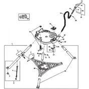 RIDGID® 41060 450 Tristand Chain Vise Swivel Nut W / Rings