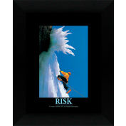 "Crystal Art Gallery - Risk - 20""W x 24""H, Straight Fit Framed"