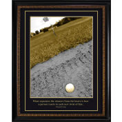"""Crystal Art Gallery - TRUMP Golf Winners and Losers - 20""""W x 24""""H, Straight Fit Framed"""