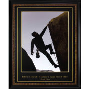 "Crystal Art Gallery - Trump Rock Climber - 26-3/4""W x 32-3/4""H, Straight Fit Framed"