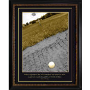 """Crystal Art Gallery - TRUMP Golf Winners and Losers - 26-1/8""""W x 32-1/8""""H, Straight Fit Framed"""