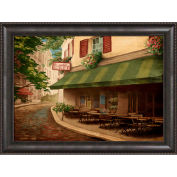 "Crystal Art Gallery - Framed Canvas w/Foil For Two - 40""W x 30""H, Straight Fit Framed"