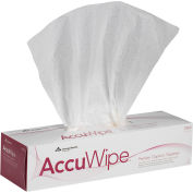 GP AccuWipe White Premium 1-Ply Technical Cleaning Wipers, 140 Sheets/Box, 15 Boxes/Case - 29856