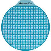 GP ActiveAire Coastal Breeze Low Splash Deodorizer Urinal Screen, 12 Screens/Case - 48260
