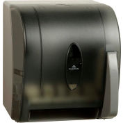 GP Georgia-Pacific Translucent Smoke Push Paddle Roll Paper Towel Dispenser - 54338