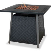 UniFlame® Outdoor Firebowl GAD1325SP With Steel Mantel, LP Gas , 30,000 BTU