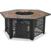 Uniflame® Propane Gas Outdoor Firebowl And Slate Tile Mantel GAD1374SP