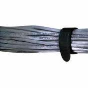 "Rip-Tie, 3/4"" x 7"" EconoWrap, M-07-E02-BK, Black, 2 Pack"