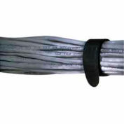 "Rip-Tie, 3/4"" x 7"" EconoWrap, M-07-E05-BK, Black, 5 Pack"