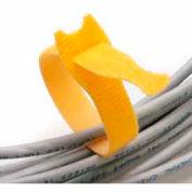 """Rip-Tie, 1/2"""" x 6"""" Lite, Y-06-XRL-O, Orange, 10 Rolls of 10"""