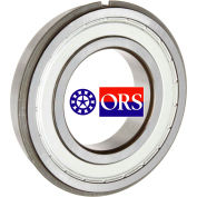 ORS 6200ZZNR Deep Groove Ball Bearing - Double Shielded Snap Ring 10mm Bore, 30mm OD