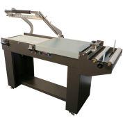 Sealer Sales SS-1622MK Combo L-Sealer & Shrink Tunnel w/ Micro Knife & Magnet Hold, 220V