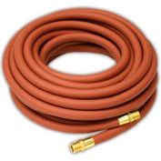 "Reelcraft S601015-100 3/8""x100' 300 PSI Nylon Braided PVC Low Pressure Air/Water Hose"